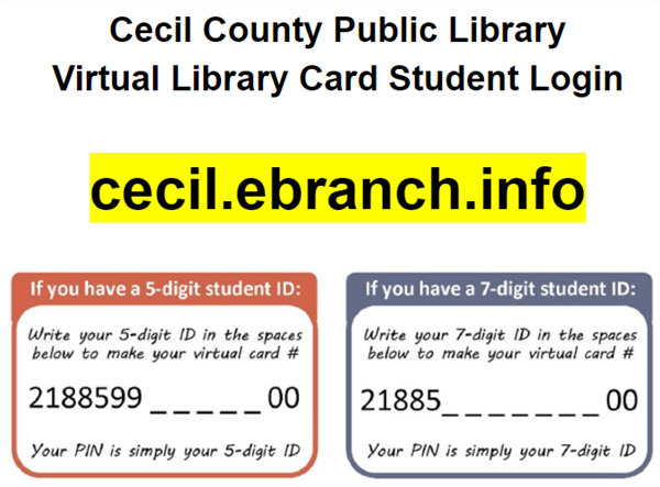 Student Virtual Library Card