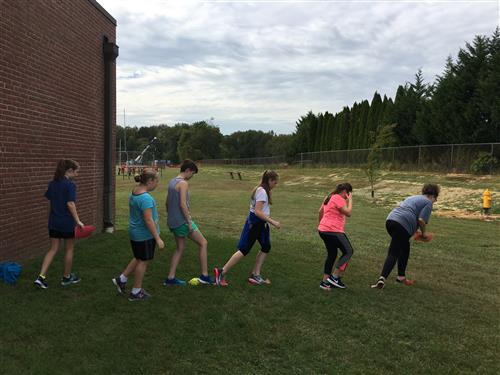 Girls on the run playing game
