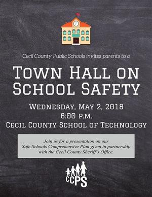 Town Hall on School Safety Meeting