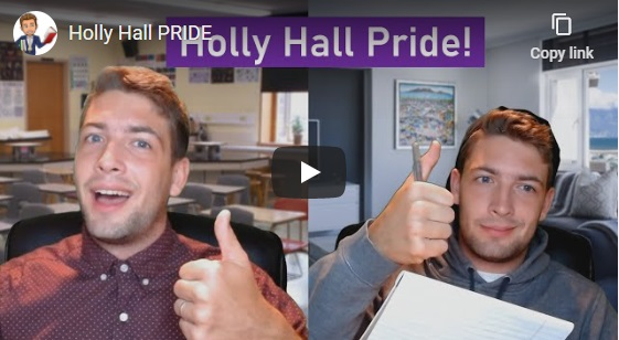 Holly Hall PRIDE