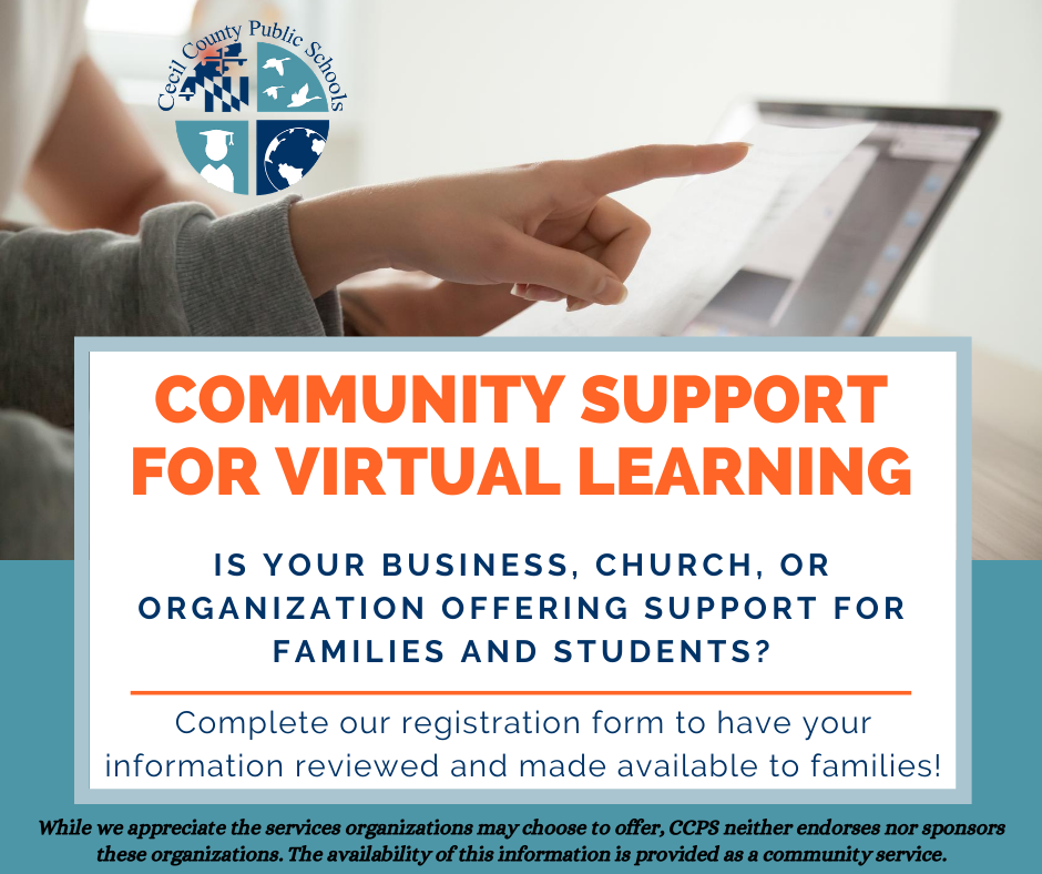 community support for virtual learning
