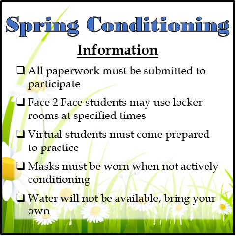 Spring Sports Conditioning