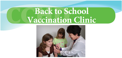 Back to School Vaccination Clinic