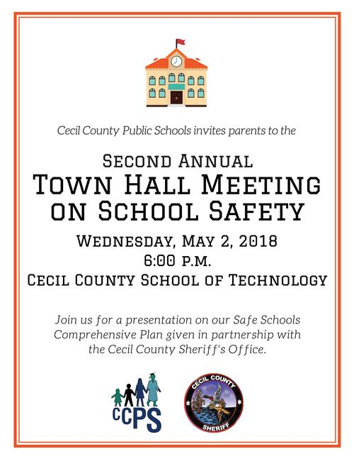 Second Annual Town Hall Meeting Poster