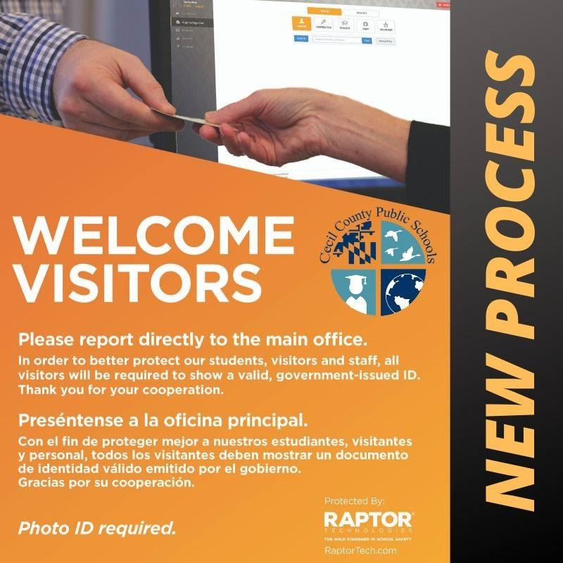 New CCPS Visitor Management Process