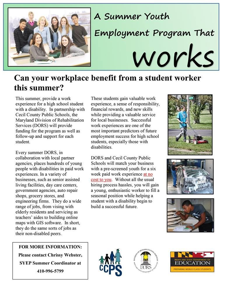 A Summer Youth Employment Program That WORKS