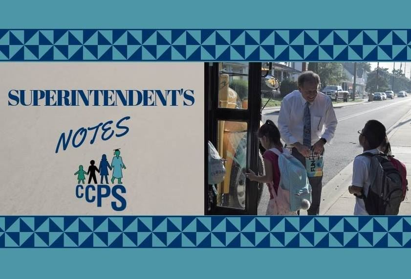 Superintendent's Notes