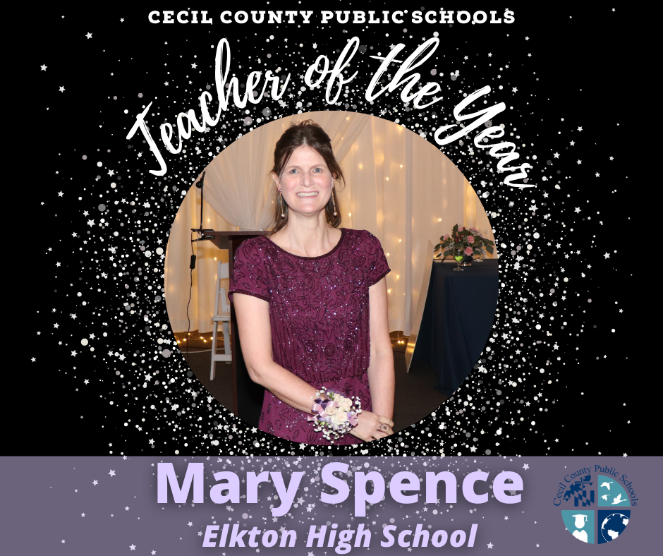 Cecil County Public Schools Teach of the Year image