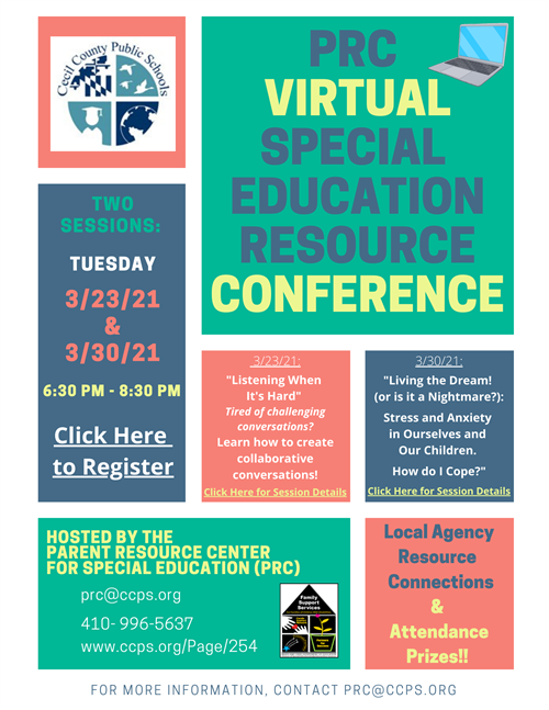 Conference flier
