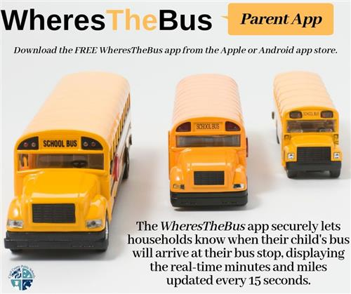 WheresTheBus Parent App Image