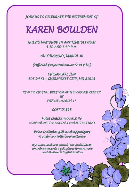 Boulden Retirement